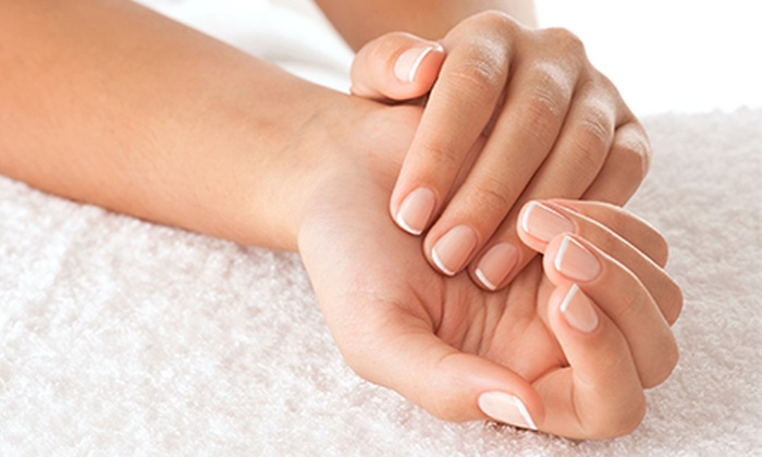 Nails and More Spa - Solon: Shellac Manicure with Optional Pedicure, Gel Artificial Nails, or Mink Eyelashes at Nails and More Spa (Up to 51% Off)
