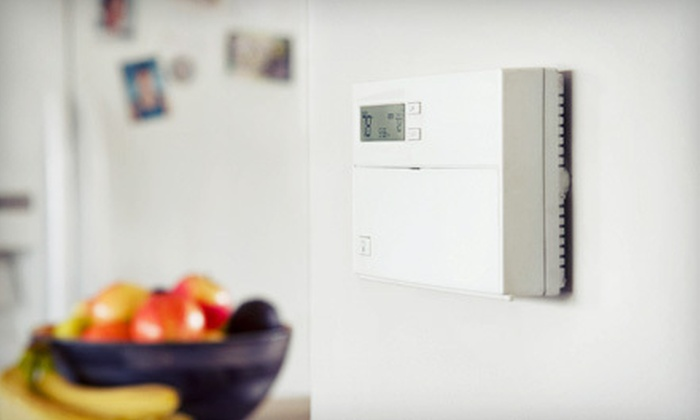Fire & Ice Heating and Air Conditioning - Fresno: $45 for an Air-Conditioner or Heater Tune-Up from Fire & Ice Heating and Air Conditioning ($100 Value)