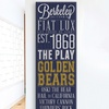 """$39.99 for a 36""""x12"""" University Pride Print on Canvas"""
