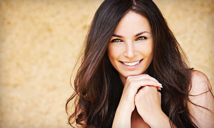 Haile Village Spa and Salon - Gainesville: Haircut with Scalp Massage, Relaxer and Rinse, or Full Highlights at Haile Village Spa and Salon (Up to 52% Off)