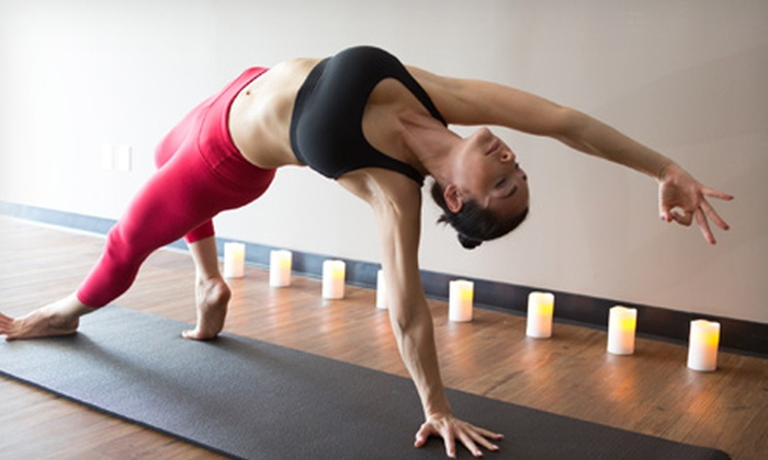 Red Diamond Yoga - Palms: $39 for One Month of Unlimited Yoga Classes at Red Diamond Yoga ($125 Value)