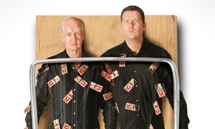 Colin Mochrie & Brad Sherwood: Two Man Group - Downtown Stamford Historic District: Colin Mochrie & Brad Sherwood: Two Man Group at Stamford's Palace Theatre on Friday, November 1 (Up to 42% Off)