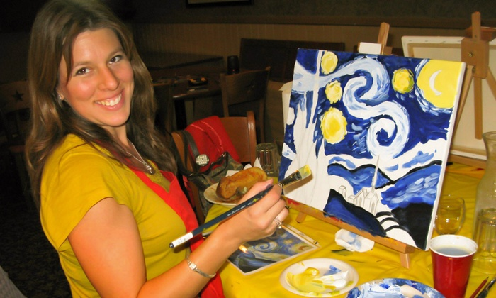 Art Partee - North Jersey: Painting Art Partees for Two or Four from Art Partee (Up to 53% Off)