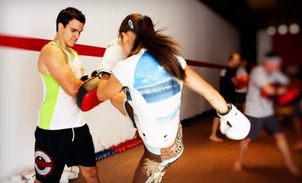 10 Muay Thai Kickboxing Classes or 12 Classes and a Personal-Training Session at UMTBC Lifestyle...