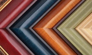 Frame & Art Dept.: Printing and Custom Framing Services at Frame & Art Dept. (Up to 77% Off). Three Options Available.