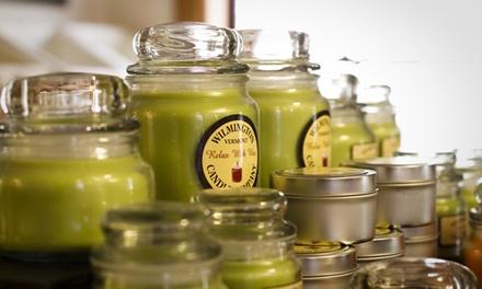 Candles, Soaps, and Body Scrubs at Wilmington Candle Company (50% Off). Two Options Available.