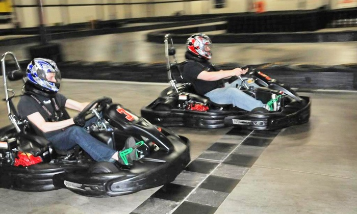 RushHour Karting - Garner: Two Eight-Minute Races or Grand Prix Race Package for Up to 10 at RushHour Karting (Up to 59% Off)