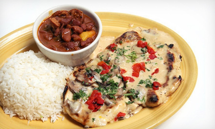 Havana South Restaurant and Bar - Buford (near Mall of Georgia): Authentic Cuban Cuisine and Drinks at Havana South Restaurant and Bar (Up to 54% Off). Two Options Available.