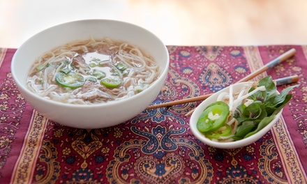 $11 for $20 Worth of Vietnamese Cuisine at White Lotus Vietnamese Restaurant