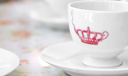 Afternoon Tea for Two or Four at Crown & Crumpet (Up to 40% Off)
