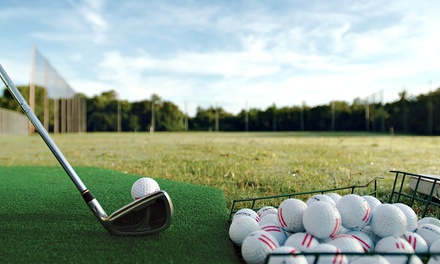 Round of Golf for Two or Four with Range Balls and $25 Off Kids' Camp at Cross Creek Golf Course (Up to 56% Off)