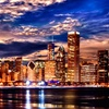 Up to 67% Off Framed Chicago Skyline Giclée from Art & Company