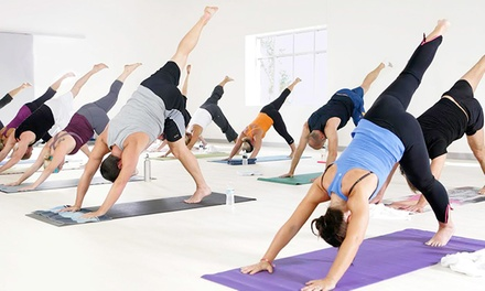 $49 for 10 Yoga Classes at The Firm ($160 Value)
