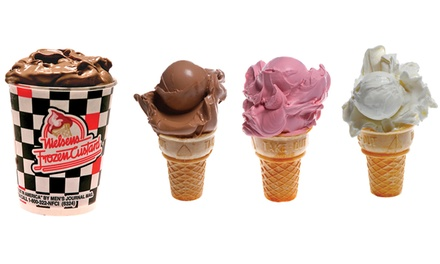 One or Two Groupons, Each Good for $10 Worth of Frozen Custard at Nielsens Frozen Custard
