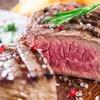 Menu carne alla carta con calice di vino