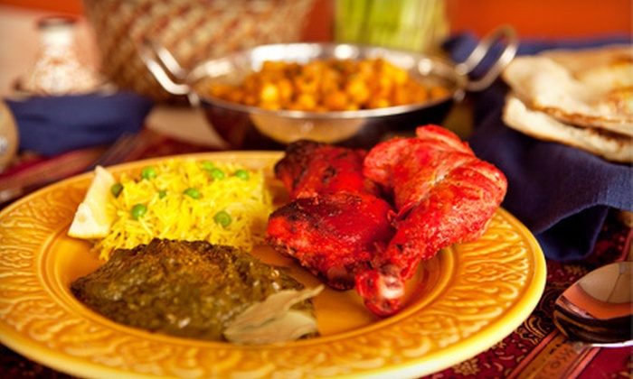 The Tandoor - Edmonton: Two-Course Meal for Two or $12 for $25 Worth of Northern Indian Cuisine at The Tandoor