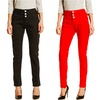 VIP Women's 3-Button Skinny Jeans