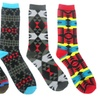 5-Pair-Pack of Boys' Aztec-Print Socks