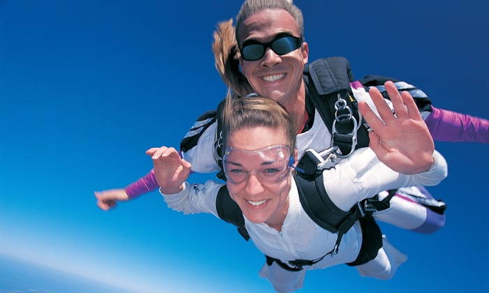 Skydive Pennsylvania - Grey's Run Estates: $169 for a Tandem Skydive with a Photo Slideshow from Skydive Pennsylvania ($339 Value)