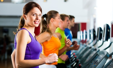 30-Day Gym-Membership Package with Fitness Coaching and Group Fitness Classes at Anytime Fitness (Up to 87% Off)