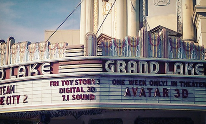 Dealflicks - Grand Lake: $12 for Movie Showings for Two at Grand Lake Theater from Dealflicks (Up to $23 Value)
