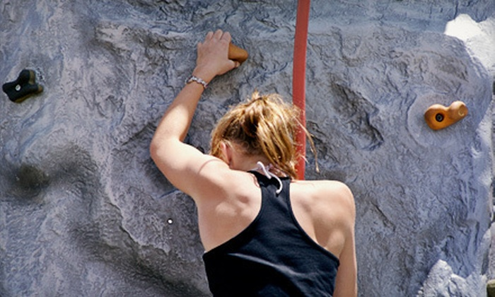 Escalade Rock Climbing Gym - Kennesaw: Climbing Package for Two or Introductory Class with One-Month Membership at Escalade Rock Climbing Gym (Up to 64% Off)