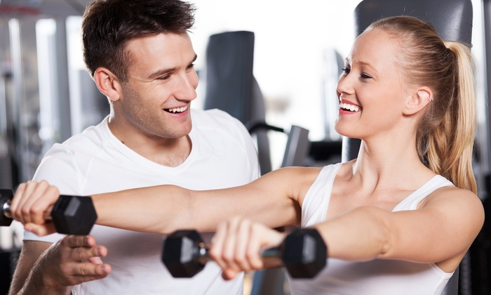 Fit Physique Fitness Center - Far West Wichita: Membership or Group Training Sessions at Fit Physique Fitness Center (Up to 51% Off). Four Options Available