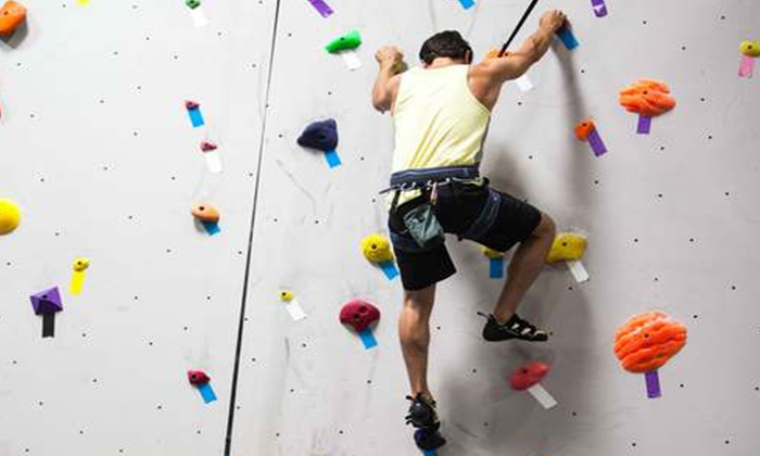 Top Out Climbing Center - Saugus: Rock-Climbing Lesson for One, Two, or Four at Top Out Climbing Center (Up to 79% Off)