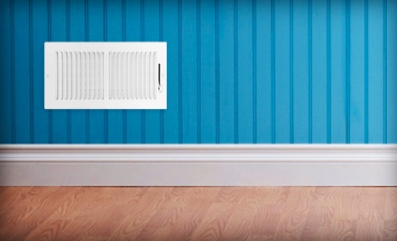$49 for a Whole-House Air-Vent Cleaning with a Dryer-Vent Cleaning and an AC Checkup from It's Duct Time ($318 Value)