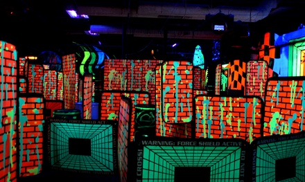 Two Rounds of Laser Tag for Four with Optional 100 Arcade Tokens at Laser Storm Pittsburgh (Up to 64% Off)