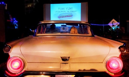 Drive-In Movie Packages at Blue Starlite Mini Urban Drive-In in Coconut Grove (Up to 50% Off). Four Options.