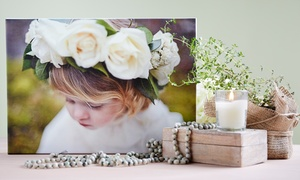"WOW Art & Photo Studio: 16""x20"" or 20""x24"" Custom Gallery-Wrapped Canvas Print from WOW Art & Photo Studio (Up to 84% Off)"