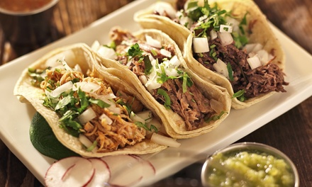Mexican Meals with Drinks for Two or Four at Puerto Vallarta Express (Up to 49%Off). Four Options Available.