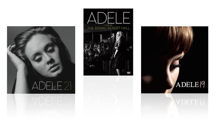 Adele CD-DVD Bundle: Adele CD-DVD Bundle with 19, 21, and Live at the Royal Albert Hall