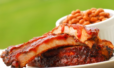 $25 for $50 Worth of Barbecue and Seafood at BJ Ryan's BanC House