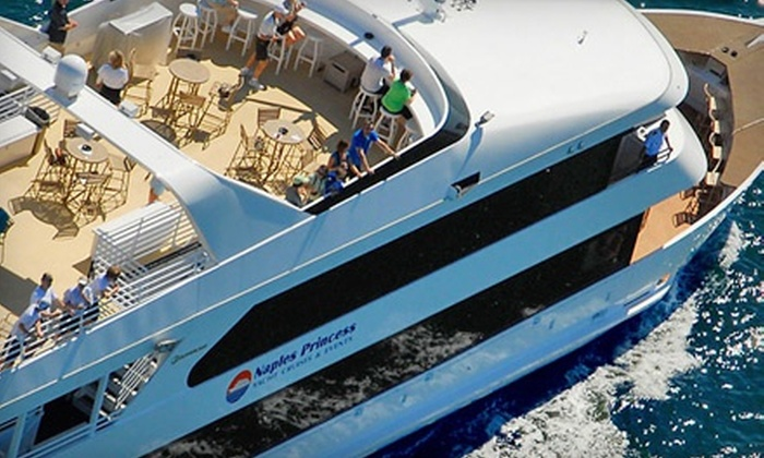 Naples Princess - Old Naples: $18 for 90-Minute Afternoon or Sunset Cruise from Naples Princess ($36.50 Value)