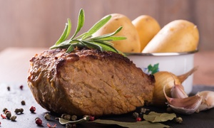 Top Notch Party Hire & Spit Roast Catering: Spit Roast Party Catering for 30 ($239) or 50 Guests ($349) with Top Notch Party Hire, Padbury (Up to $1,025 Value)