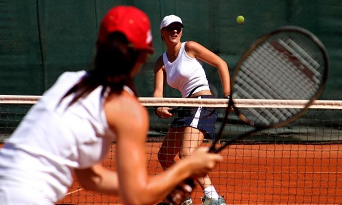 1 an de cours de tennis le petit smash groupon for Un cours de tennis