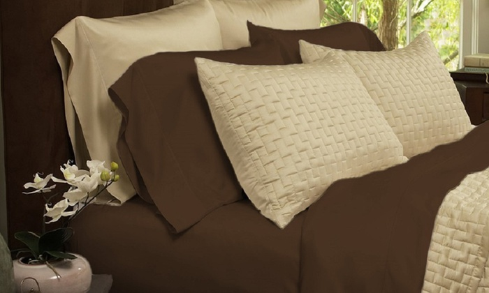 Marvelous Luxury Home Bamboo Blend Sheet Set ...