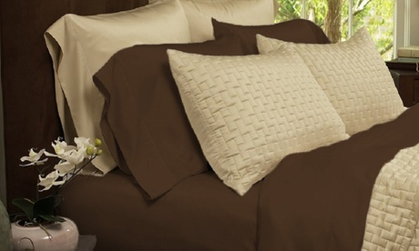 Luxury Home Bamboo-Blend Sheet Set