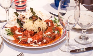 Aroma Indian Cuisine: Indian Cuisine at Aroma Indian Cuisine (Up to 42% Off). Two Options Available.