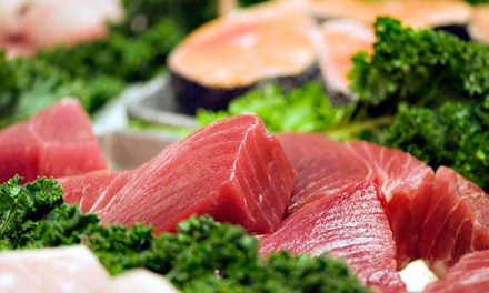 $12 for $20 Worth of Wild-Caught Seafood and Steaks at Carolina Fish Market