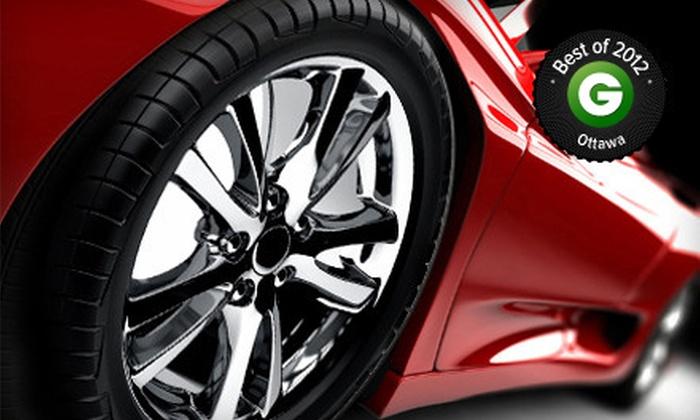 Canotek Auto Detailing - Canotek Auto Detailing: Spring Car Cleaning or VIP Platinum Auto Detailing at Canotek Auto Detailing (Up to 54% Off)