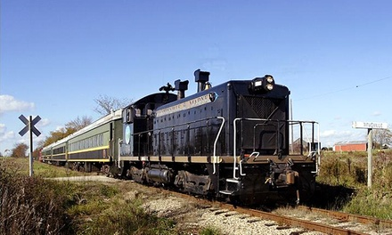 Scenic Train Ride from The Coopersville & Marne Railway Company (Up to 50% Off). Four Options Available.