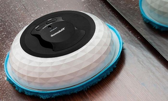 Groupon Goods Global GmbH: Robot lavapavimenti Domobot con ruote girevoli a 360°