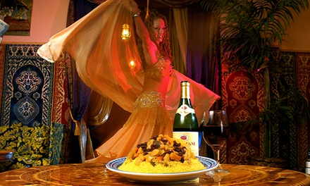 $26 for a Five-Course Moroccan Dinner for Two or More at Marrakesh Moroccan Restaurant ($39.90 Value)