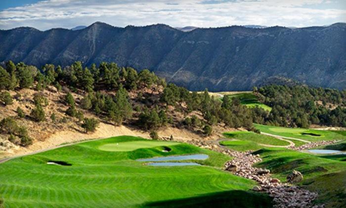 Lakota Canyon Ranch & Golf Club - Lakota Canyon Ranch: $47 for a Round of Golf with Cart at Lakota Canyon Ranch & Golf Club ($94 Value)