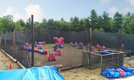 Paintball Package for 2, 4, 8, or 12 at Merrimack Valley Paintball (Up to 69% Off)