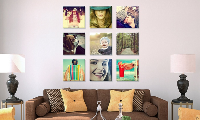Fabness: Personalized Instagram Canvases from Fabness. Multiple Sizes Available from $12–$29.