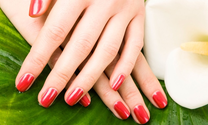 Salon Von De Beauty Bar - Commack: Mani-Pedi Packages at Salon Von De Beauty Bar (Up to 60% Off). Three Options Available.